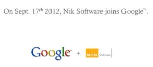 Nik Soft + Google